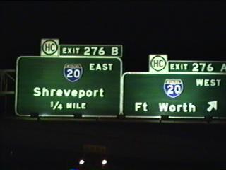 IH 45 north at IH 20.