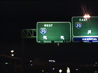 IH 45 north at IH 30.