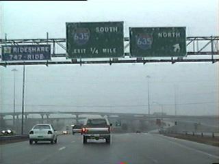 US 80 east at IH 635.