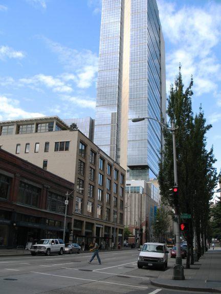 2nd Ave at Seneca St - Seattle, Washington