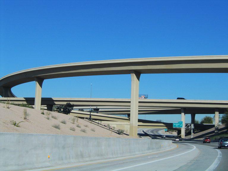 SR 51 north at SR 202/I-10 - Phoenix, AZ