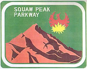 Squaw Peak Parkway Trailblazer