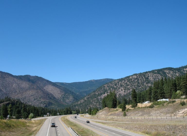 I-90 at Alberton, MT