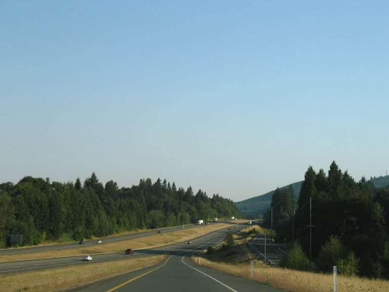 I-5 North - Castle Rock, WA