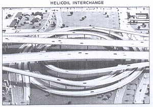 I-10 Helicoil Interchange model