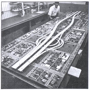 I-10 Papago Freeway model