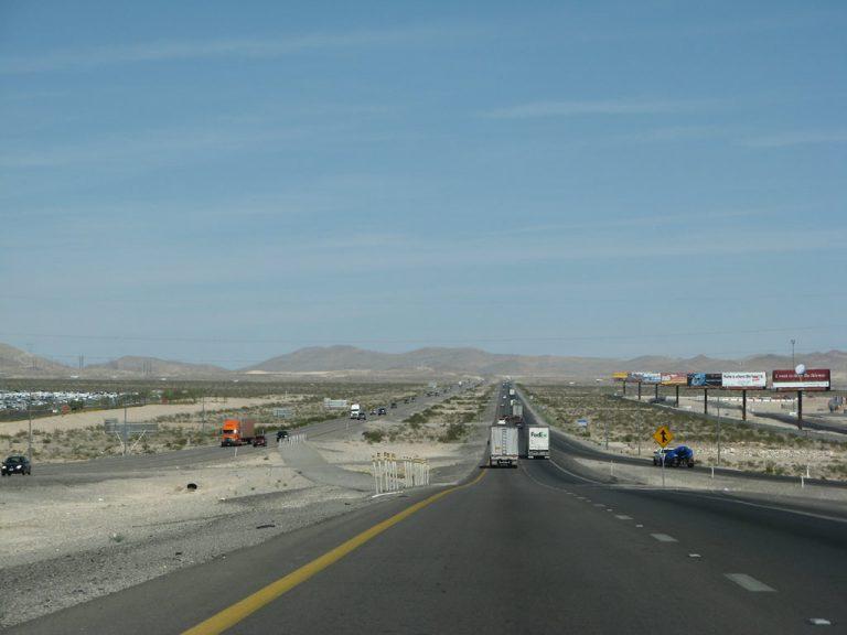 I-15 north of Exit 54
