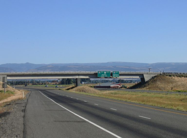 I-82/US 97 at I-90 - Ellensburg, Washington