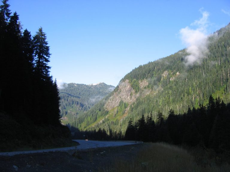 I-90 - Snoqualmie Summit, Washington