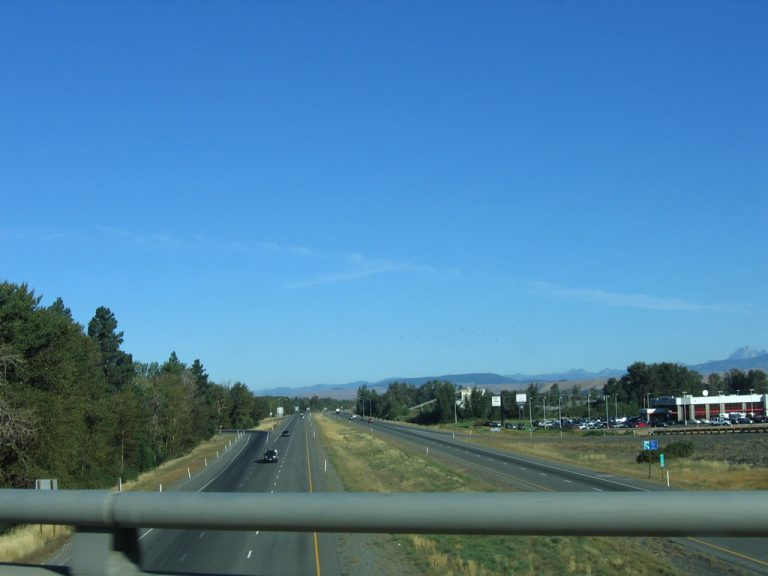 US 97 at I-90 - Ellensburg, Washington