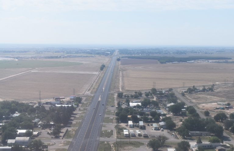 US 285 - Roswell, NM aerial