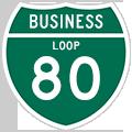 Business Loop I-80