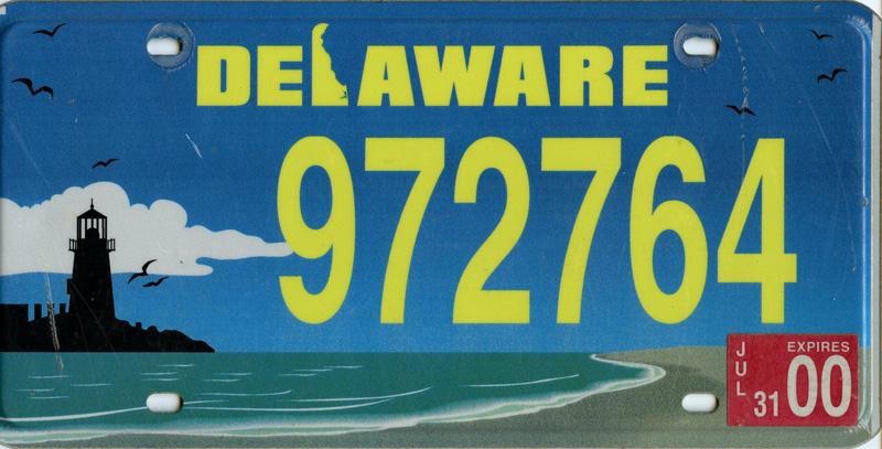 Delaware Environmental Tag