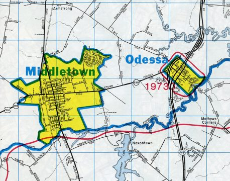 Middletown and Odessa in 1991