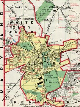 1971 Newark Map