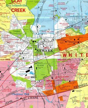 1976 Newark Map