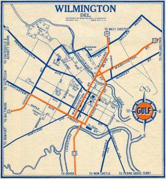 1935 Wilmington Map