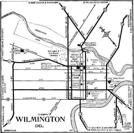 Wilmington in 1937. Courtesy of Alex B.