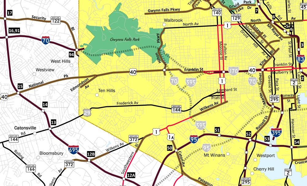Interstate 70 - AARoads - Maryland
