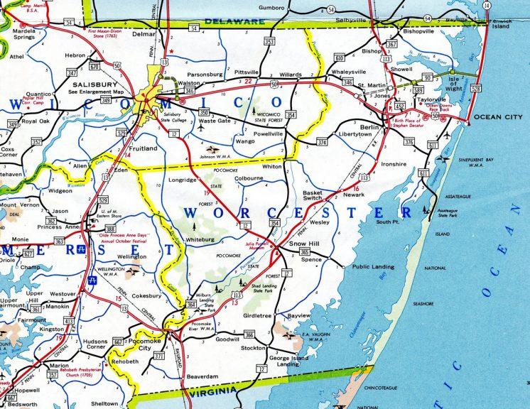 Southeastern Maryland - 1973