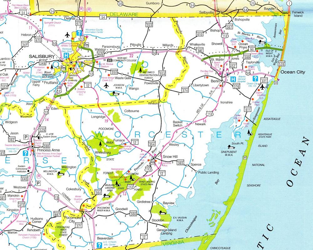 East Petersburg Pa >> U.S. 113 Business - Snow Hill - AARoads - Maryland