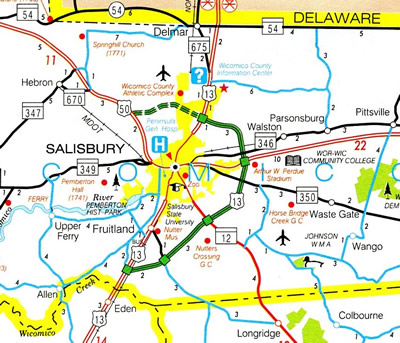 Southeastern Maryland - 2001