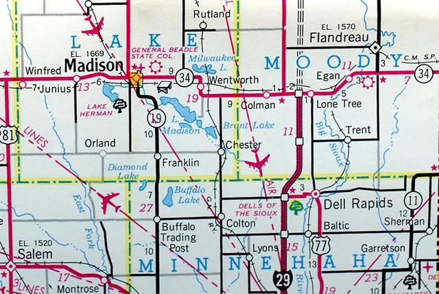 Interstate 29 - AARoads - South Dakota