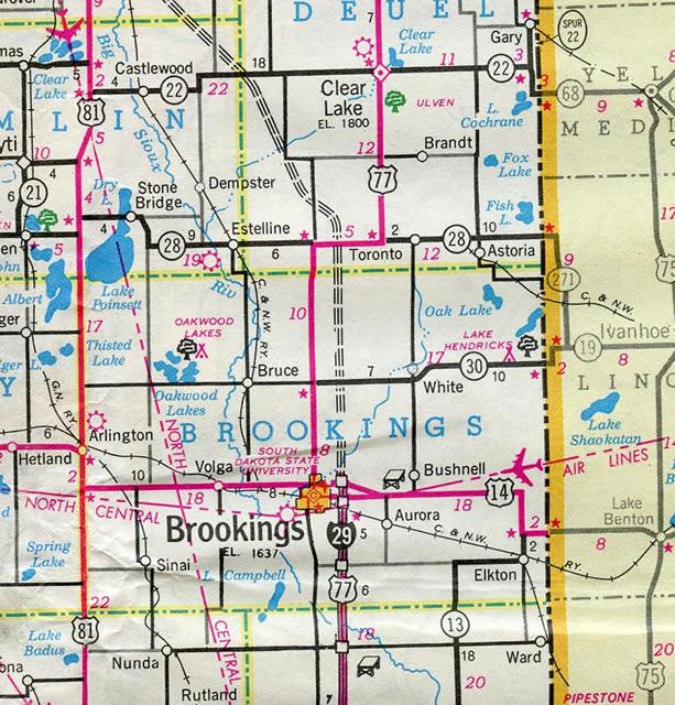 Interstate 29 AARoads South Dakota