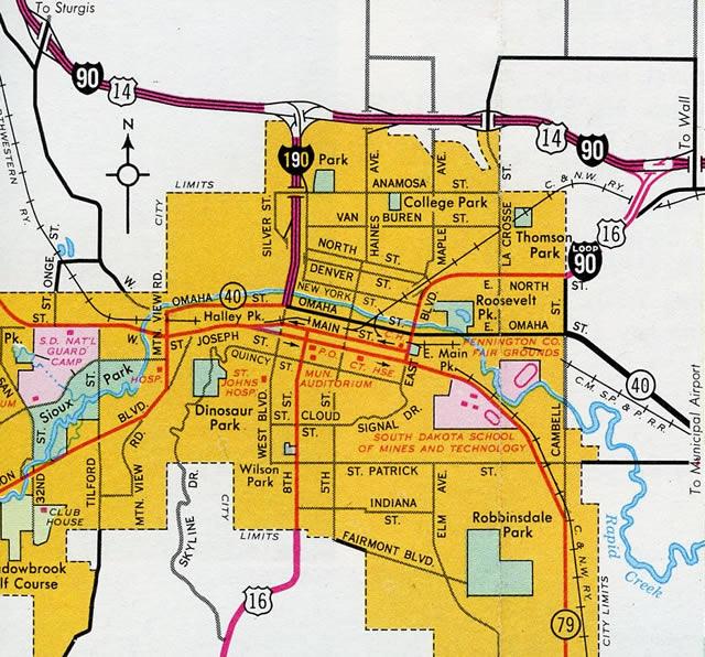 Interstate 190 Aaroads South Dakota