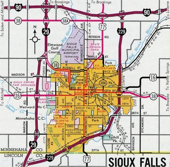 Sioux Falls, SD - 1965