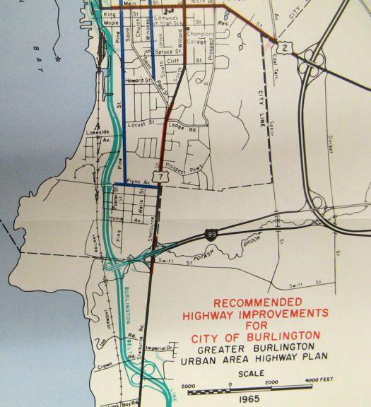 1965 Greater Burlington Urban Area Highway Plan