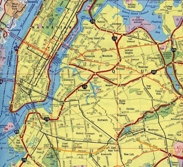 I-478 - Manhattan, NY - 1973