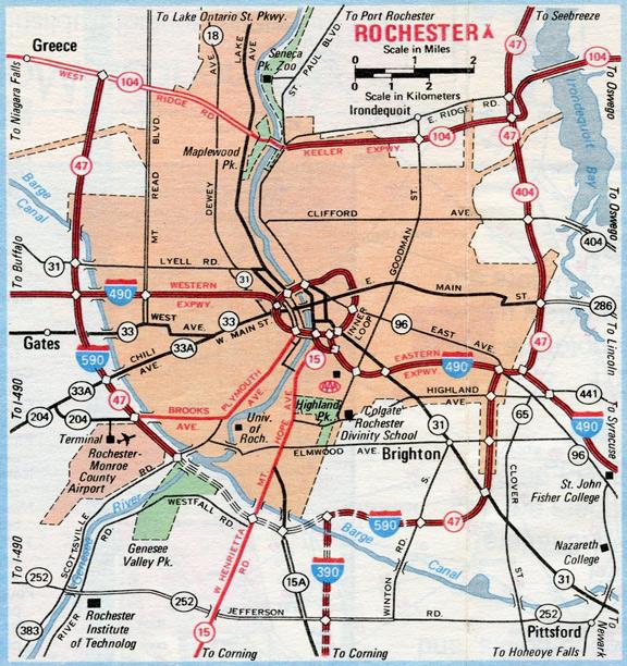 Rochester, NY - 1980