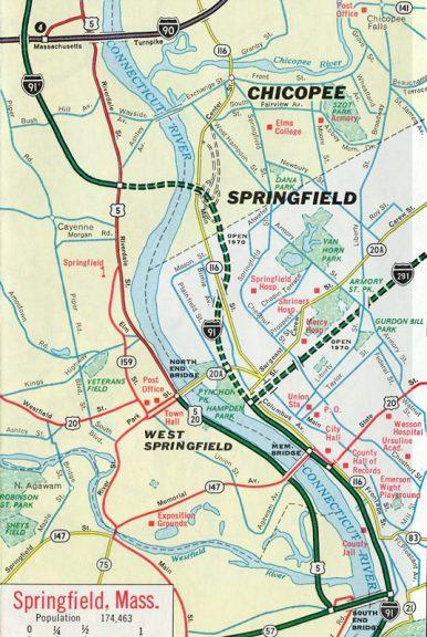 Springfield, Massachusetts - 1969