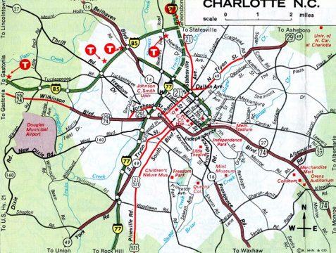 Charlotte, NC - 1973