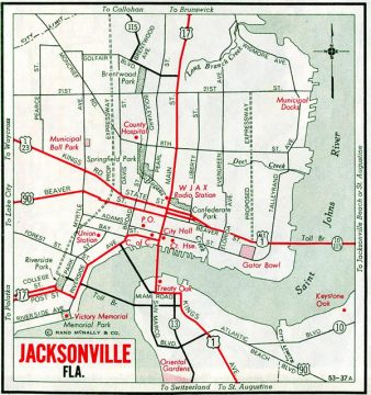 Jacksonville, FL - 1955