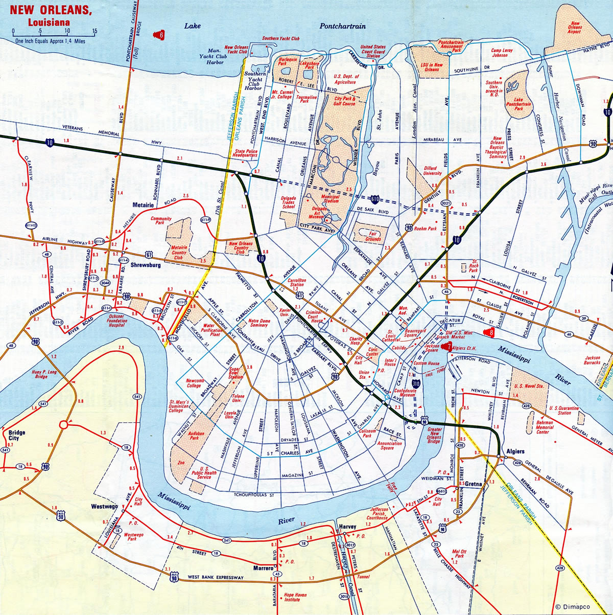New Orleans - AARoads on new orleans flood map, new orleans ninth ward katrina, new orleans 13th ward map, new orleans wards and precincts, new orleans map by ward, french quarter, 3rd ward of new orleans, calliope projects, 1st ward of new orleans, iberville projects, st. bernard projects, new orleans treme map, 7th ward of new orleans, new orleans crime map, new orleans august 2005, new orleans cathedral, new orleans central business district, lafitte projects, new orleans ward 9, new orleans below sea level map, lower ninth ward, new orleans area map, melpomene projects, desire projects, magnolia projects, 6th ward of new orleans, new orleans east, new orleans swamp tours, new orleans ward map current, new orleans districts and wards, wards of new orleans, louisiana sea level map, new orleans louisiana, six flags new orleans, florida projects, algiers, louisiana, new orleans creole women of, new orleans ward's, eastern new orleans,