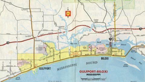 Biloxi-Gulfport, MS - 1973