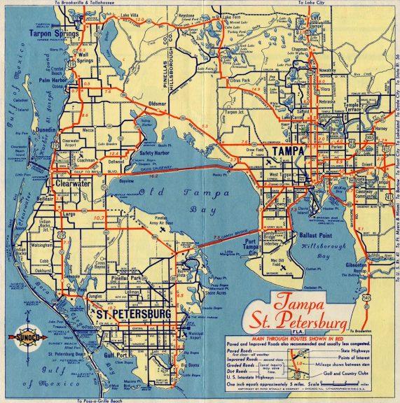 Tampa, St. Petersburg, FL - 1948