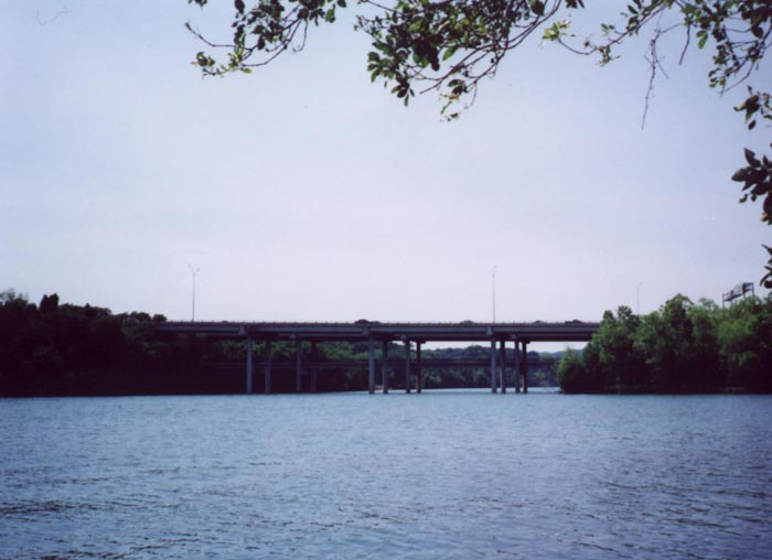 Loop 1 over the Colorado River in Austin