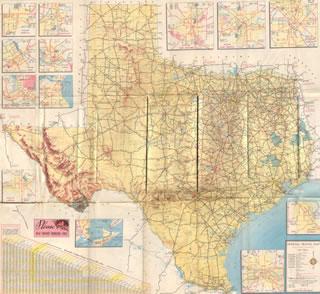 Copyright 1954 Texas Department of Transportation