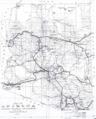 Copyright 1926, Arizona Highway Department (via Arizona State Library)