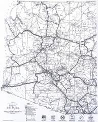 Copyright 1943, Arizona Highway Department