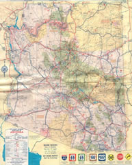 Copyright 1963, Arizona Highway Department and Rand McNally