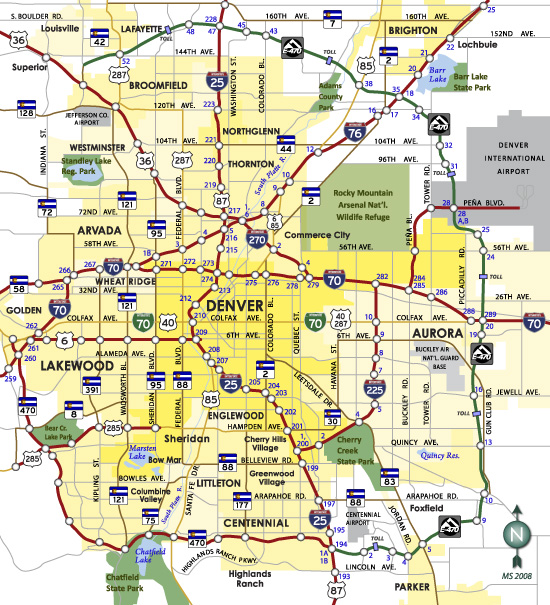 Denver - AARoads on denver region map, carson city nevada area map, denver area map with towns, corpus christi texas area map, fairfax virginia area map, denver city street map, denver metro area map, denver microbreweries map, baton rouge louisiana area map, denver co map with streets, grand junction area map, twin falls idaho area map, denver area hospitals map, denver neighborhood map, englewood co area map, denver attractions map, denver castle rock map, long beach california area map, city and county of denver map, city lake park map,