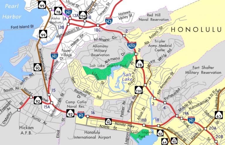 IH 201 Map
