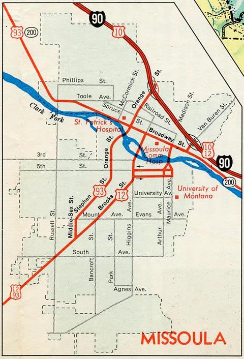 Missoula, MT - 1968