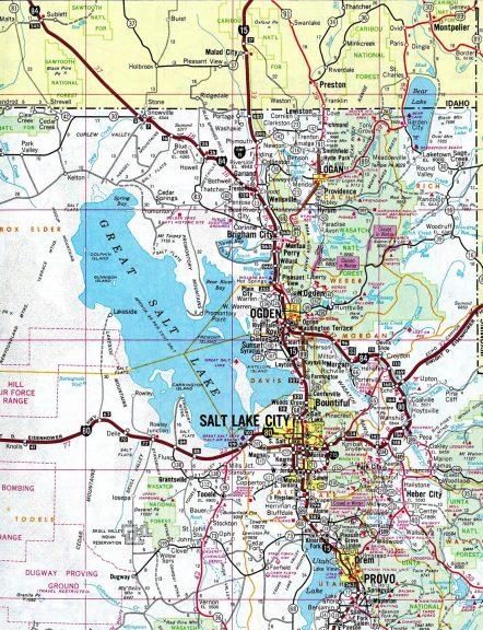 Northern Utah - 1986