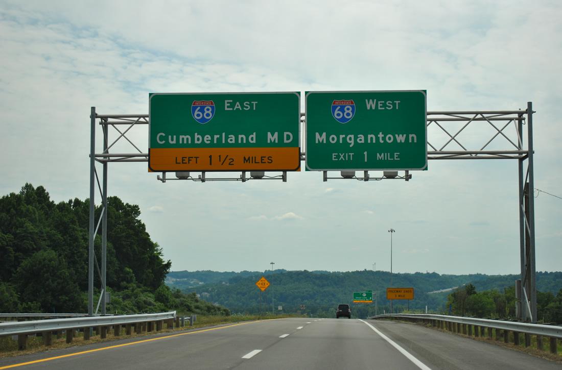 Route 43 - Mon-Fayette Expressway - AARoads - West Virginia