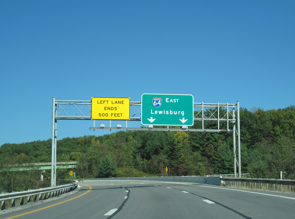 East Petersburg Pa >> Interstate 64 East - Beckley - AARoads - West Virginia